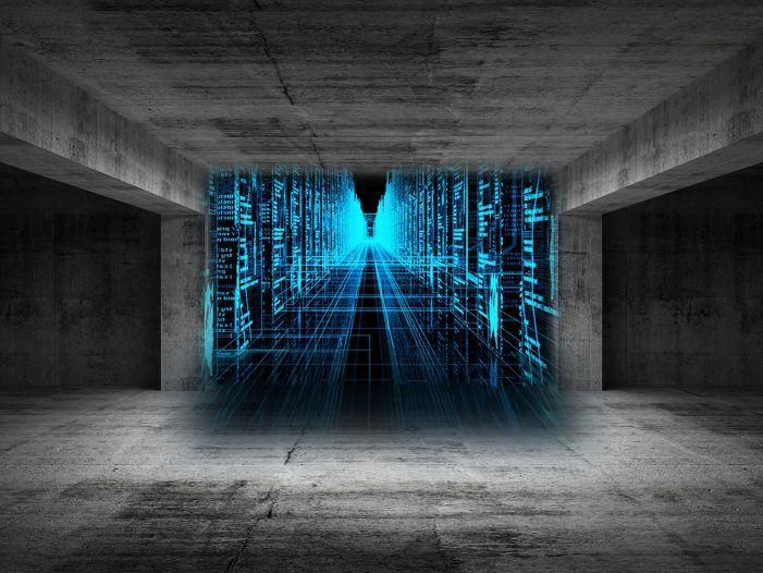 Darstellung der Datenströme in virtualisierten Umgebungen