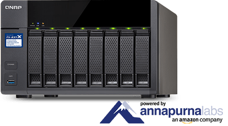 QNAP rüstet Enterprise-NAS doppelt auf