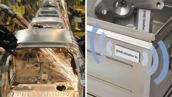 Gläserne Prototypen dank RFID-Technologie