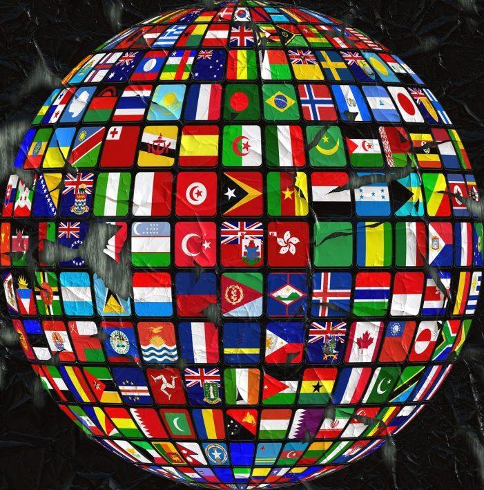 Weniger als 5 Prozent aller Domains sind wirklich international
