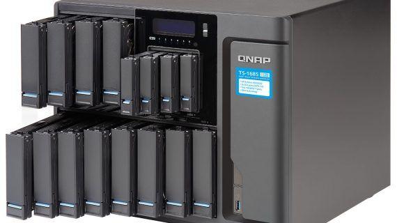 Enterprise-NAS mit Xeon-D-Prozessor