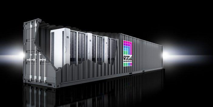 Schlüsselfertige, skalierbare Datacenter-Container