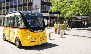 Sitten-autonome-Kleinbusse