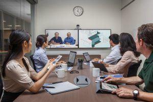 #Polycom präsentiert zusammen mit #Microsoft #Skype-for-Business-Interfaces