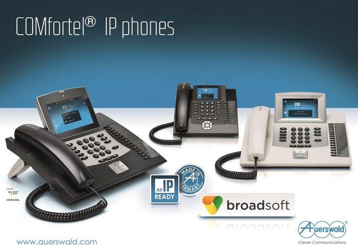 IP-Telefone von Auerswald  jetzt mit Broadworks kompatibel