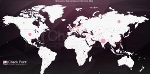 Check Point_Global WannaCry Ransomware Infection Map