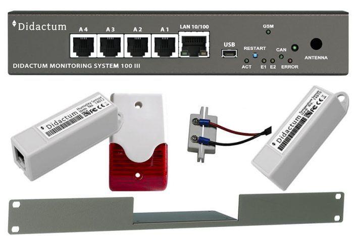 Überwachungssysteme für Serverräume