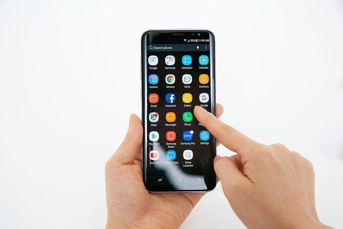 Sicherer Smart-Chip für das Samsung-Galaxy-S8