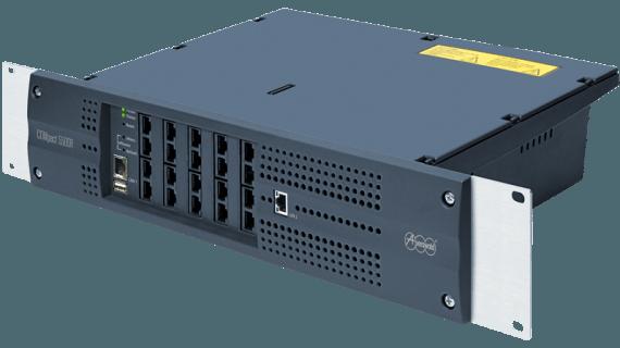 Vollmodulares ITK-Sytem für IP-, DECT-, Analog- und ISDN-Telefone