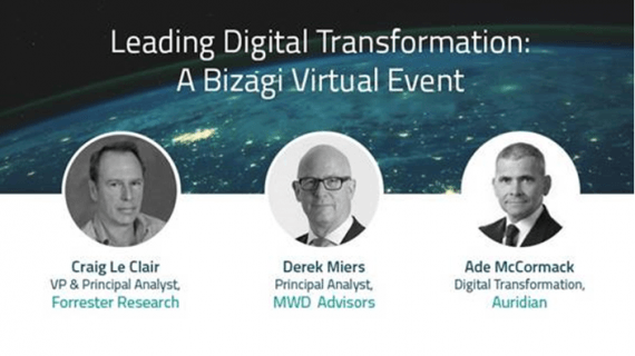 Virtual-Summit von Bizagi zu Leading-Digital-Transformation