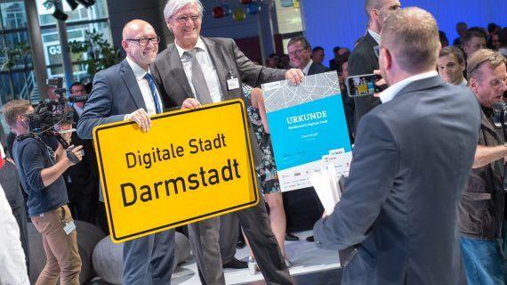 """Darmstadt gewinnt Wettbewerb """"Digitale Stadt"""""""