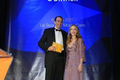 Vergabe der Datacloud-Awards am 6, Juni 2017 in Monte Carlo