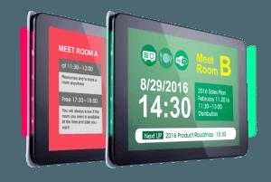 Konferenzraumlösung kombiniert mit Digital-Signage