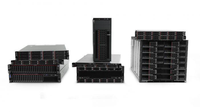 Das aktuelle Thinksystem-Portfolio von Lenovo knackt 42 Benchmark-Rekorde