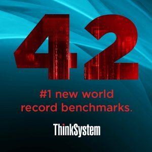 Lenovo_42 Benchmark-Siege für ThinkSystem