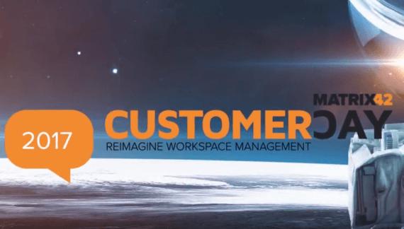 Matrix42 Customer Day 2017 Impressionen
