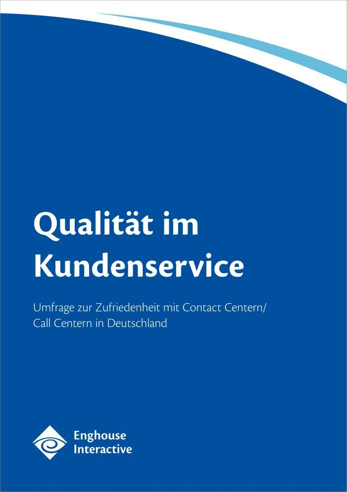 Studie: Qualität im Kundenservice