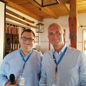 Die Zwei: Georg Thoma und Thomas Hruby, Geschäftsführung von Sysob