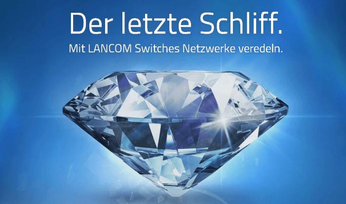 Switch-Kampagne mit Prämien-Promotion von Lancom