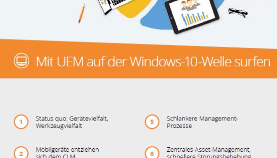 Mit UEM auf der Windows-10-Welle surfen