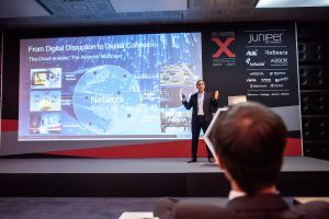 "Juniper Networks: ""From Digital Disruption to Digital Cohesion"" – Ahmed Guetari, Juniper"
