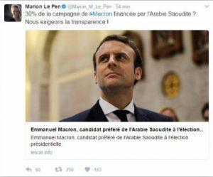 Fake-News: Während der Präsidentschaftswahlen in Frankreich wurde Emmanuel Macron Opfer mehrerer solcher Fake-News.