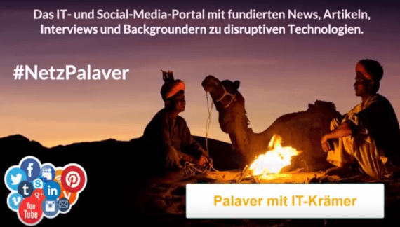 Palaver mit IT-Krämer