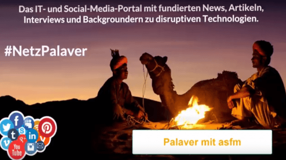 Palaver mit André Feuerer von asfm