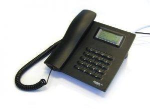 """Das weltweit erste frei käufliche IP-Telefon der Welt: """"snom 100""""."""