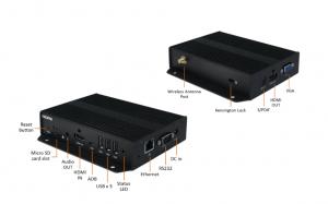 XMP-6400: Anschlüsse für alle Digital-Signage-Vorhaben.