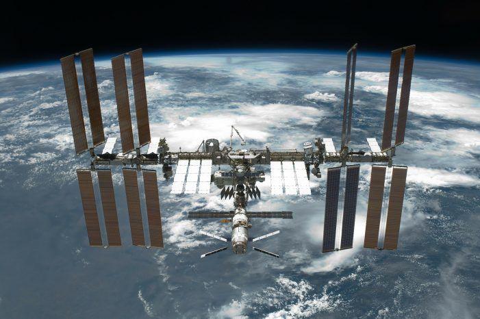 HPE-Supercomputer auf der Raumstation ISS erstmals in Betrieb