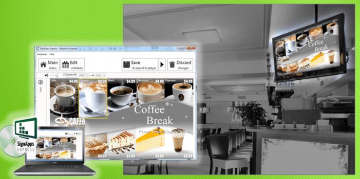 Digital-Signage-Inhalte schnell und einfach erstellen