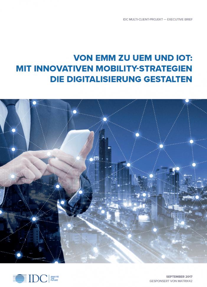 Mit innovativen Mobility-Strategien die Digitalisierung gestalten