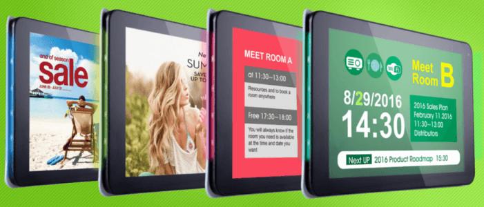 IAdea erweitert Signboards mit NFC