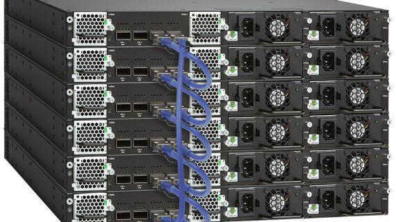 Multi-Gigabit-Ethernet-Switching mit 100 GBit/s von Ruckus