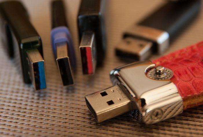 Malware-Check fremder Datenträger