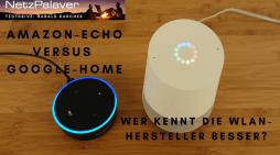 Amazon versus Google – Wer kennt die WLAN-Hersteller besser?