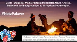 Palaver mit Michael Schumacher von Schneider Electric zu USV-Trends