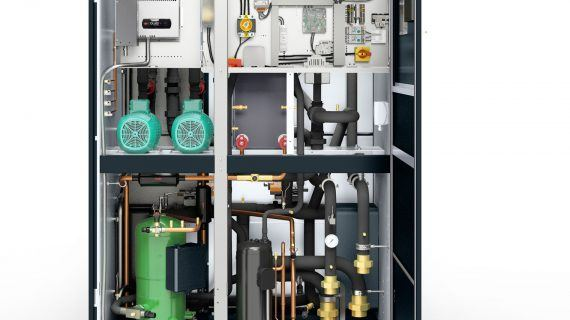 100 kW Kälteleistung auf kleinstem Raum