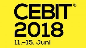 Logo der Cebit 2018.