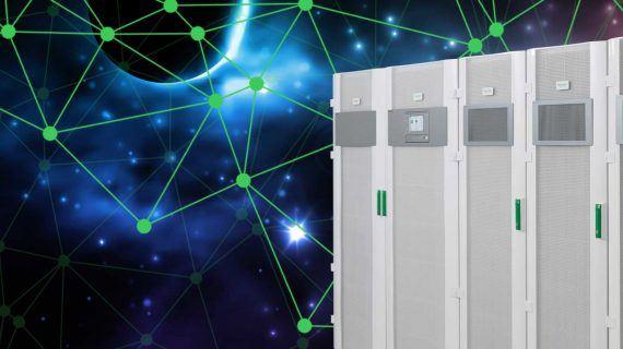 Palaver mit Schneider Electric zum Thema USV