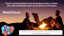 Palaver mit Olaf Hagemann von Extreme Networks