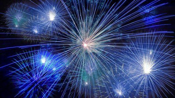 Daten-Feuerwerk