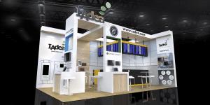 IAdea Deutschland auf der ISE 2018, Halle Stand