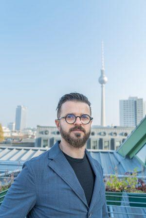 Alan Duric, CTO/COO und Mitgründer Wire
