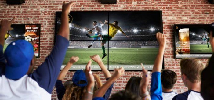 Digital-Signage ist die optimale Plattform für die WM