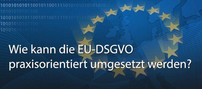 Lösungsroadshow zur DSVGO