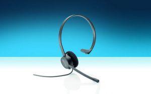 Headset für komfortables Telefonieren mit hoher Mikrofon- und Audioqualität