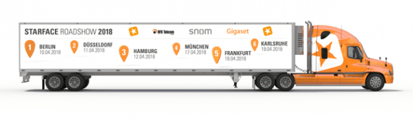 Starface-Roadshow 2018 im April