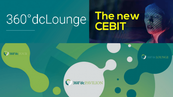 Nachhaltigkeit ist, wenn die Datacenter-Infrastruktur stimmt – die 360°dcLounge meets CEBIT 2018